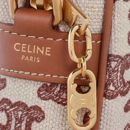 CELINE Plain Logo Keychains & Bag Charms