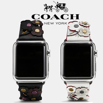 Coach Apple Watch® Strap With Tea Rose, 38Mm