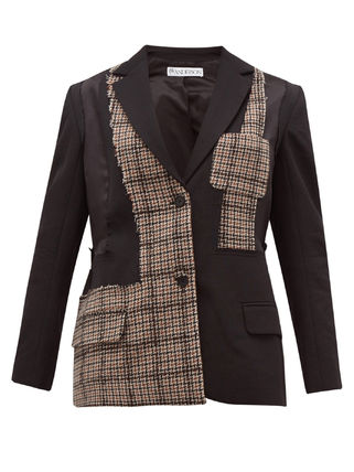 Other Plaid Patterns Casual Style Plain Office Style