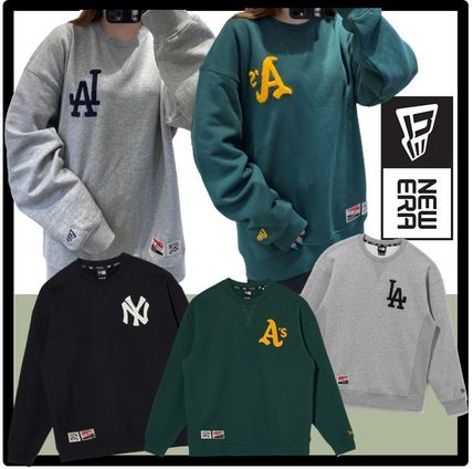New Era Unisex Street Style Hoodies & Sweatshirts