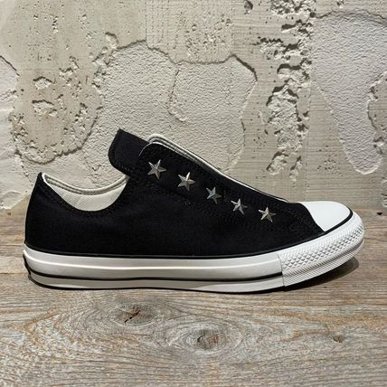 Star Rubber Sole Casual Style Unisex Studded Street Style