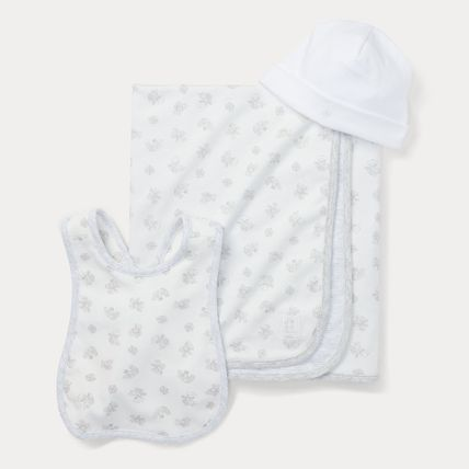 Ralph Lauren Co-ord Baby Boy Bibs & Burp Cloths