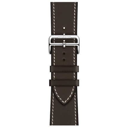HERMES Unisex Blended Fabrics Street Style Apple Watch Belt Bridal