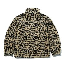 THE NORTH FACE WHITE LABEL Short Leopard Patterns Unisex Medium Fleece Jackets