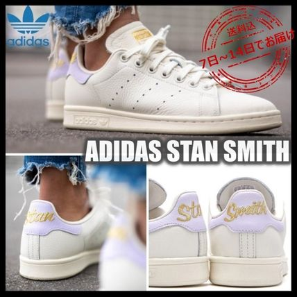 adidas STAN SMITH Logo Platform Casual Style Street Style