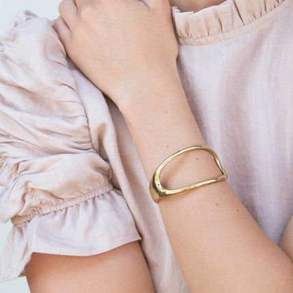 Bangles Casual Style Party Style Silver Brass Elegant Style