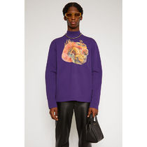 Ance Studios Pullovers Unisex Street Style Long Sleeves