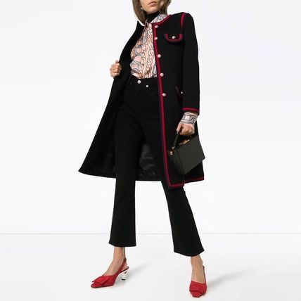 GUCCI Wool Medium Elegant Style Formal Style  Coats