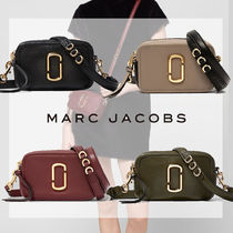 MARC JACOBS Softshot Casual Style Unisex Plain Leather Party Style Office Style