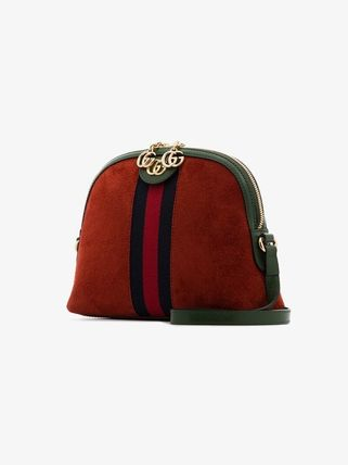 GUCCI Ophidia Suede Crossbody Shoulder Bags
