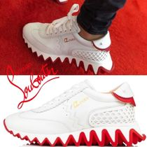 Christian Louboutin Casual Style Studded Street Style Leather Party Style