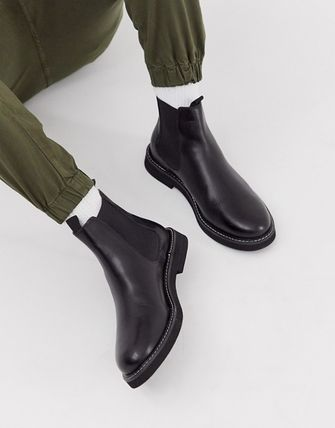 ASOS Street Style Plain Leather Chelsea Boots Chelsea Boots