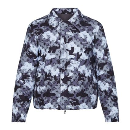 Louis Vuitton Reversible Camo Double Face Coach Jacket