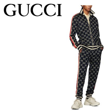 GUCCI Unisex Street Style Oversized Co-ord Sweats Two-Piece Sets