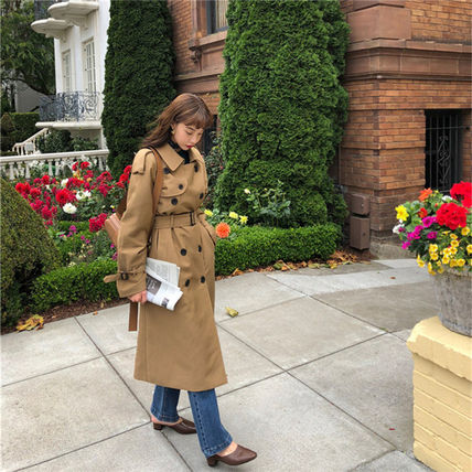 Elegant Style Formal Style  Trench Coats