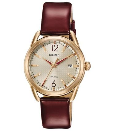 Casual Style Leather Round Party Style Stainless
