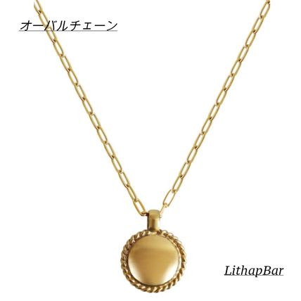 Casual Style Chain Brass 14K Gold Necklaces & Pendants