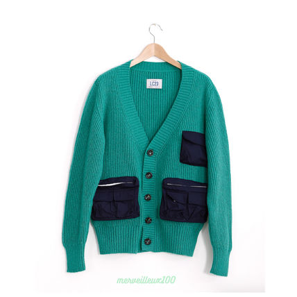 LC23 Cardigans Wool Street Style Cardigans