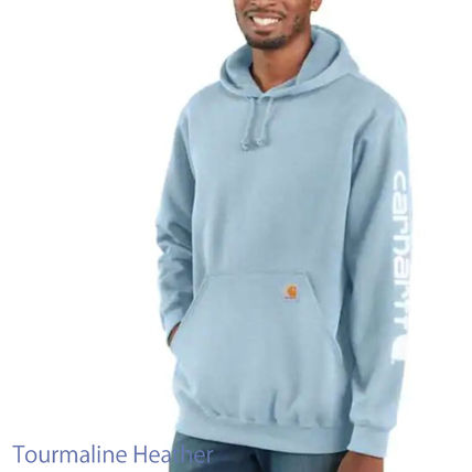 Carhartt Pullovers Street Style Long Sleeves Cotton Logo Hoodies