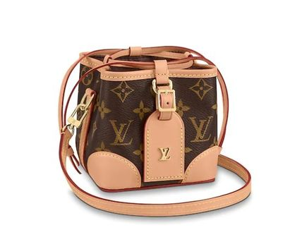 Casual Style Party Style Elegant Style Logo Shoulder Bags