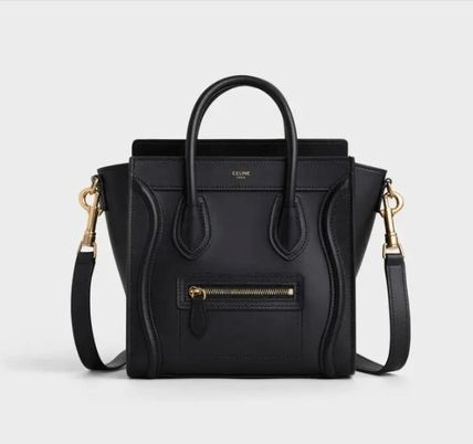 CELINE Luggage Nano Luggage Bag In Smooth Calfskin