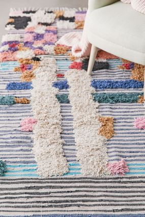 Ethnic Morroccan Style Kitchen Rugs Outdoor Mats & Rugs