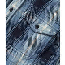 Outer known Shirts Button-down Other Plaid Patterns Unisex Street Style 5