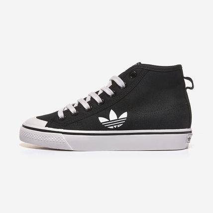 adidas Unisex Street Style Plain Logo Low-Top Sneakers