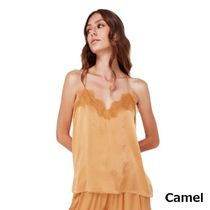 CAMI NYC Casual Style Silk Plain Medium Party Style Lace