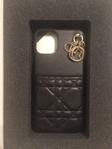Christian Dior Unisex Leather Logo iPhone 11 Pro Smart Phone Cases