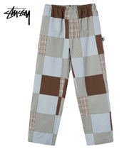 STUSSY Printed Pants Street Style Logo Patterned Pants