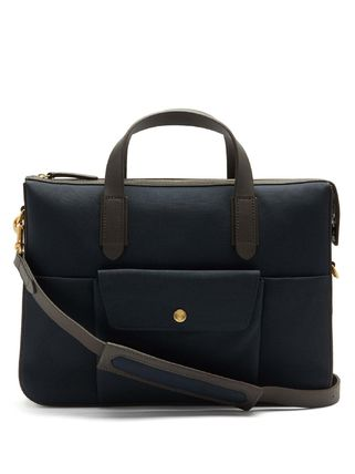 Canvas 2WAY Leather Business & Briefcases