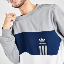 adidas Sweatshirts Crew Neck Pullovers Unisex Sweat Street Style Long Sleeves 4