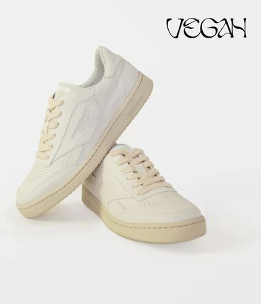 Casual Style Unisex Plain Logo Low-Top Sneakers