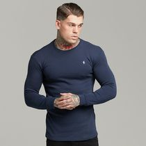 Father & Sons Long Sleeve Crew Neck Street Style Long Sleeves Cotton 8