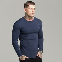 Father & Sons Long Sleeve Crew Neck Street Style Long Sleeves Cotton 9