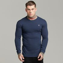 Father & Sons Long Sleeve Crew Neck Street Style Long Sleeves Cotton 10