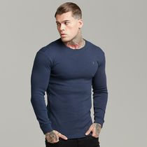 Father & Sons Long Sleeve Crew Neck Street Style Long Sleeves Cotton 11