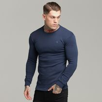 Father & Sons Long Sleeve Crew Neck Street Style Long Sleeves Cotton 13