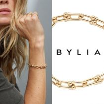 BYLIA Costume Jewelry Casual Style Street Style 18K Gold