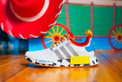 adidas NMD Unisex Street Style Collaboration Kids Girl Sneakers