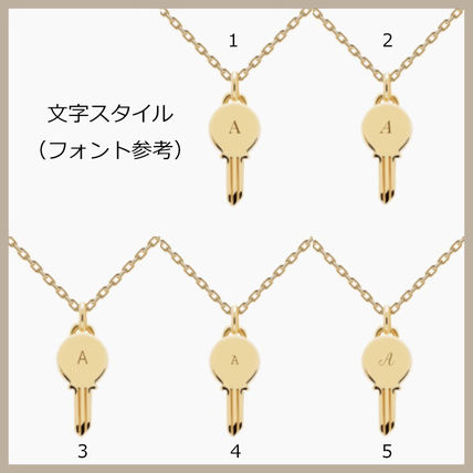 Casual Style Initial Party Style Silver Office Style