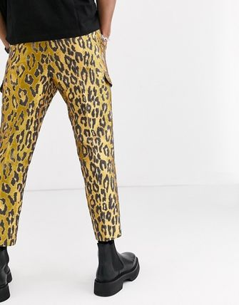 ASOS Tapered Pants Leopard Patterns Tapered Pants