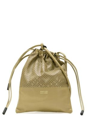 Dots Casual Style Purses Bucket Bags