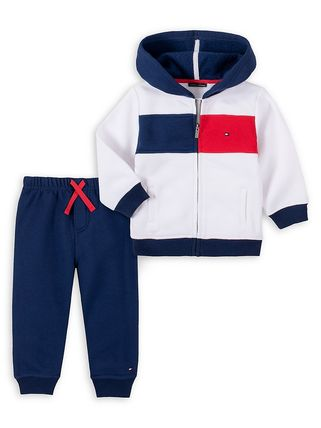Tommy Hilfiger Unisex Co-ord Baby Girl Tops