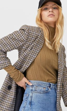 Other Plaid Patterns Casual Style Medium Party Style
