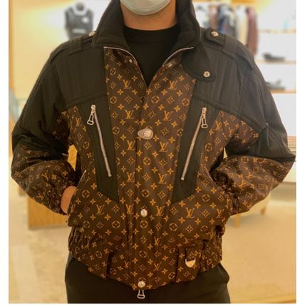 Louis Vuitton MONOGRAM Retro Monogram Oversized Ski Jacket