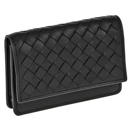 BOTTEGA VENETA Plain Card Holders