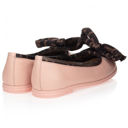 FENDI Kids Girl Ballet Flats