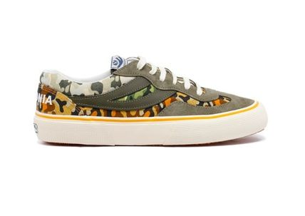 Camouflage Street Style Collaboration Sneakers